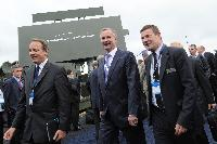 Participation of Siim Kallas and Antonio Tajani, Vice-Presidents of the EC, at the 49th edition of the Bourget Air Show