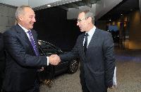 Visite d'Andris Bērziņš, président de la Lettonie, à la CE