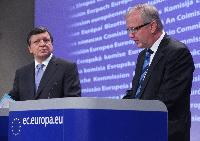 Joint press conference by José Manuel Barroso, President of the EC, and Olli Rehn, Member of the EC, on Connecting Europe Facility and Project bonds