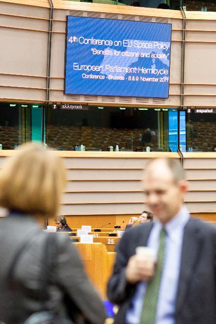 Participation de Connie Hedegaard, membre de la CE, à la 4e conférence annuelle sur la politique européenne sur l'espace
