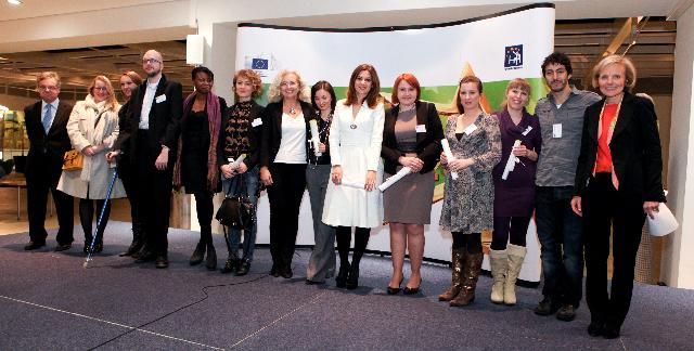 Award Ceremony of the EU Health Prize for Journalists 2011