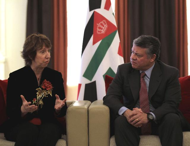 Visit of Catherine Ashton, Vice-President of the EC, to Jordan