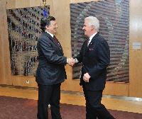 Visit of Jim Costa,  Member of the U.S. House of Representatives for California's 20th congressional district, to the EC