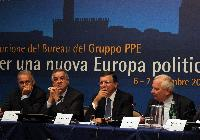Participation of José Manuel Barroso, President of the EC, in the EPP Group meeting