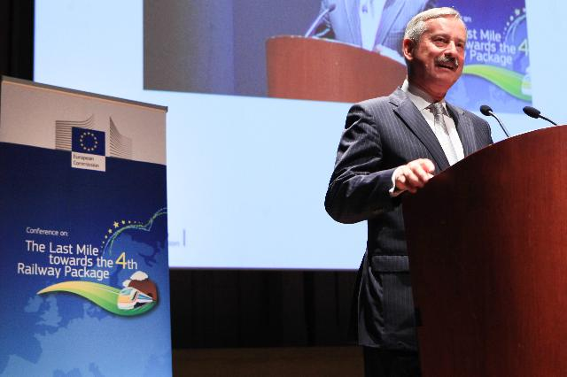 Participation of Siim Kallas, Vice-President of the EC, at the 4th Railway Package Conference