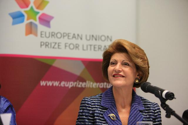 Participation of Androulla Vassiliou, Member of the EC, at the 2012 Frankfurt Book Fair