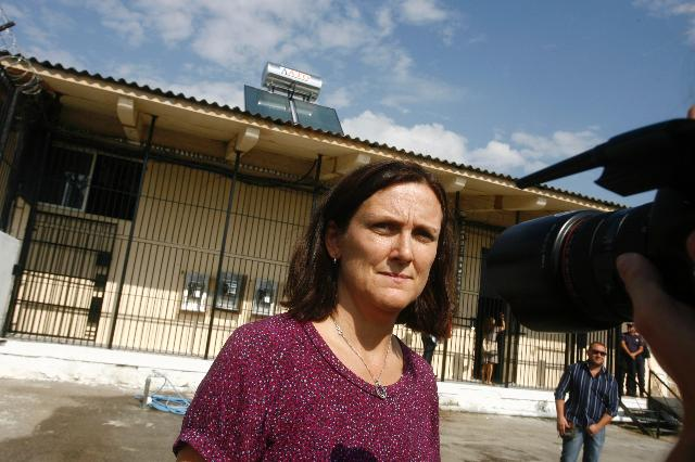 Visit of Cecilia Malmström, Member of the EC, to Greece