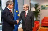 Visit of José Graziano da Silva, Director General of the FAO, to the EC