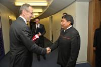 Visit of David Choquehuanca, Bolivian Minister for External Relations and Worship, to the EC