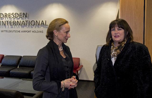 Visit of Máire Geoghegan-Quinn, Member of the EC, to Germany
