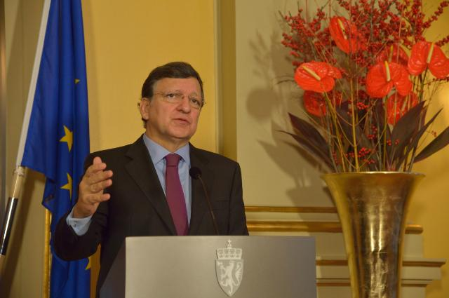 1st day events after the award of the 2012 Nobel Peace Prize® to the EU