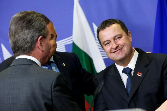 Signature of the agreement on the construction of gas interconnector between Bulgaria and Serbia