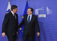 Visite de Borut Pahor, président de la Slovénie, à la CE