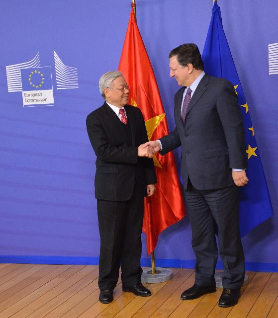 Visit of Nguyễn Phú Trọng, Secretary General of the Communist Party of Vietnam, to the EC