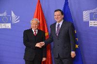 Visite de Nguyễn Phú Trọng, secrétaire général du parti communiste vietnamien, à la CE