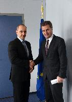 Visit of Martin Kuba, Czech Minister for Industry and Trade, to the EC