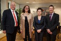 Visit of representatives from Eurocities to the EC