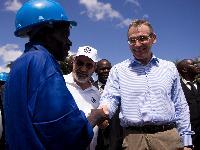 Visit of Andris Piebalgs, Member of the EC, in Malawi