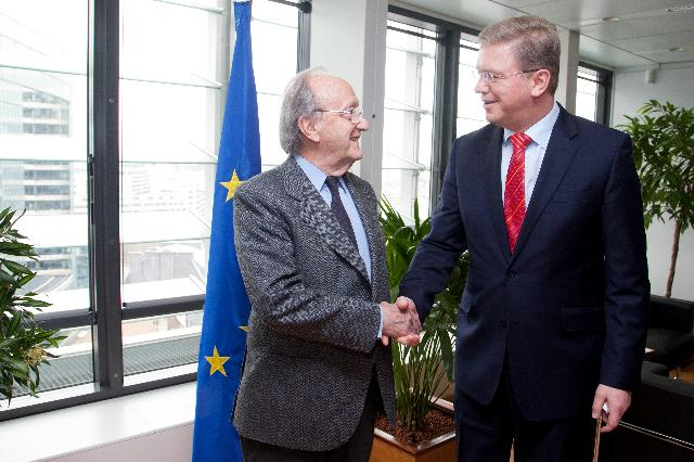 Visit of Carlos Westendorp, Secretary General of the Club de Madrid, to the EC