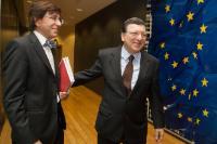 Visit of Elio Di Rupo, Belgian Prime Minister, to the EC