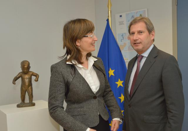 Visit of Ekaterina Zaharieva, Bulgarian Deputy Prime Minister and Minister for Regional Development and Public Works, to the EC