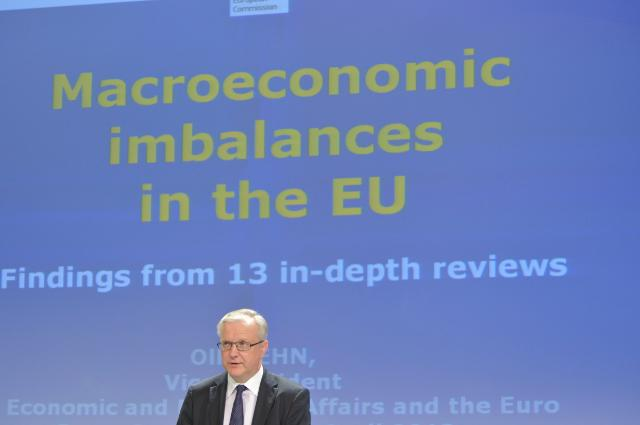 Press conference by Olli Rehn, Vice-President of the EC, on the in-depth reviews of macroeconomic imbalances in 13 Member States