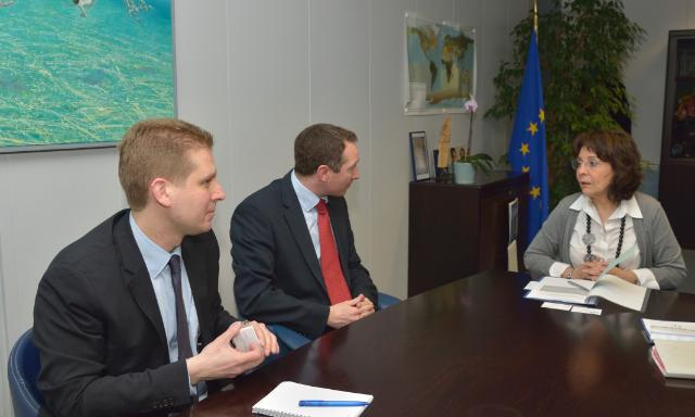 Visit of Robert Ashdown, Secretary General of CLIA Europe, to the EC