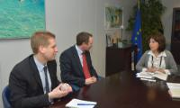 Visit of Robert Ashdown, Secretary General of CLIA Europe, to the EC