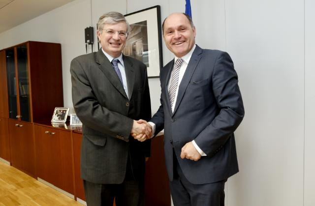 Visit of Wolfgang Sobotka, Vice-Governor of Lower Austria, to the EC