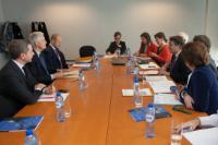 Visit of a delegation from the European House of French Local Authorities to the EC