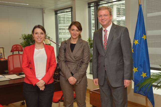 Visit of Eka Gigauri, Executive Director of Transparency International Georgia, to the EC