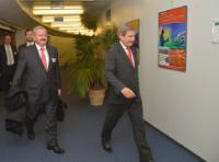 Visit of Reimund Neugebauer, President of the Fraunhofer-Gesellschaft, to the EC