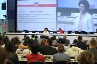 Participation de José Manuel Barroso, président de la CE, et Androulla Vassiliou, membre de la CE, à la semaine européenne de la Jeunesse 2013