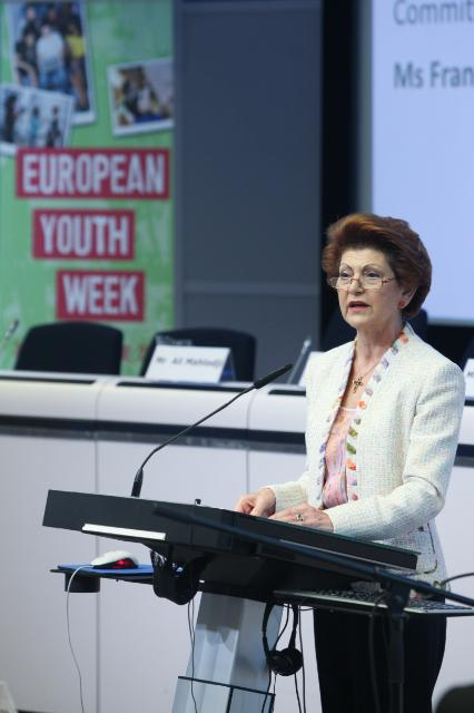 Participation of José Manuel Barroso, President of the EC, and Androulla Vassiliou, Member of the EC, in the European Youth Week 2013