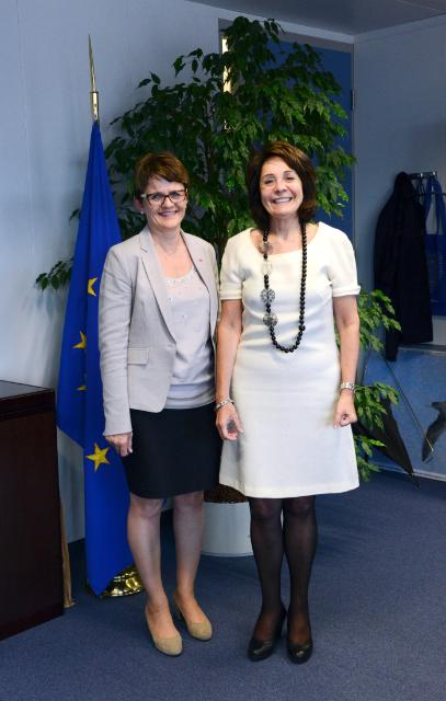 Visit of Lisbeth Berg-Hansen, Norwegian Minister for Fisheries and Coastal Affairs, to the EC