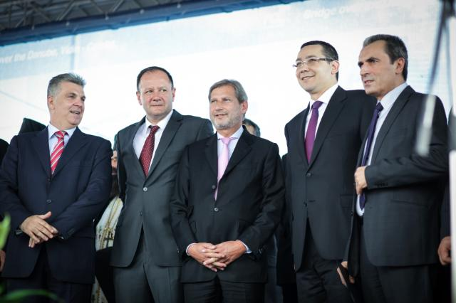 Commissioner Hahn launches two projects of major importance for Romania and Bulgaria