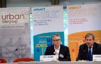 Participation de Johannes Hahn, membre de la CE, au lancement d'une nouvelle série de rapports thématiques Urbact 'Villes de demain: agir aujourd'hui'