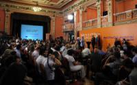 Dialogue avec les citoyens à Sofia avec Viviane Reding
