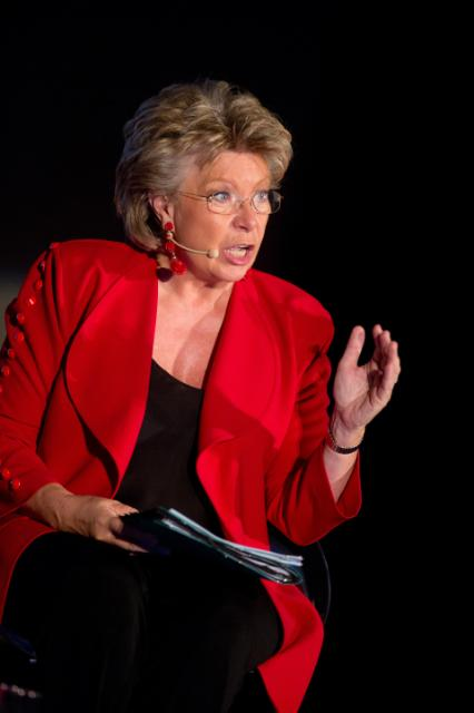 Citizens' Dialogue in Namur with Viviane Reding