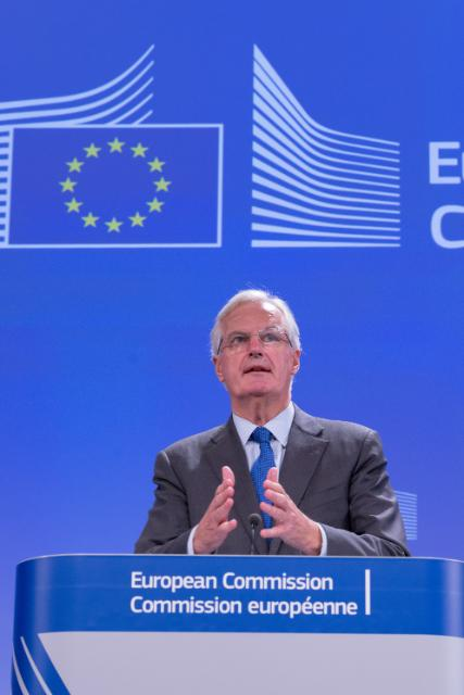 Press conference by Michel Barnier, Member of the EC, on the draft legislation to help restore confidence in the integrity of benchmarks