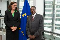 Visit of Mustapha Kaloko, Member of the AUC in charge of Social Affairs, to the EC