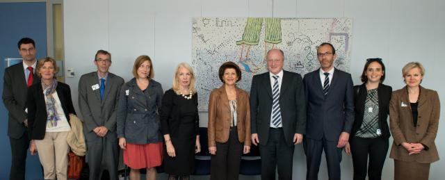 Visite d'une délégation de l'EFAD à la CE