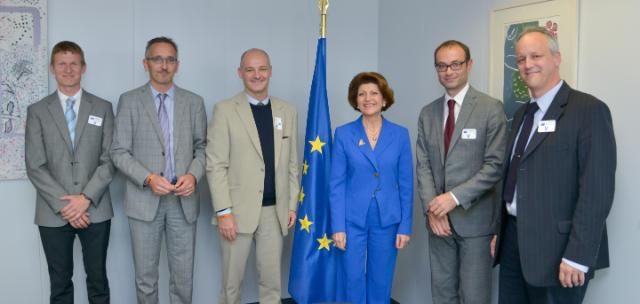 Visit of the representatives from the ISCA to the EC