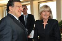 Meeting between Emily O'Reilly, European Ombudsman, and José Manuel Barroso, President of the EC