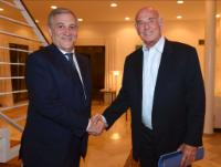Visit of Antonio Tajani, Member of the EC, to Israel
