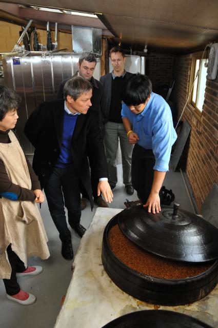 Visit of Dacian Cioloş, Member of the EC, to South Korea