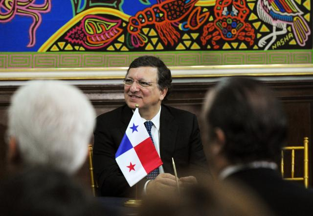 Visit of José Manuel Barroso, President of the EC, to Panama