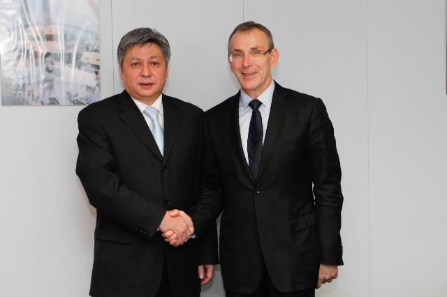 Visit of Abdyldaev Erlan Bekeshovich, Kyrgyz Minister for Foreign Affairs, to the EC