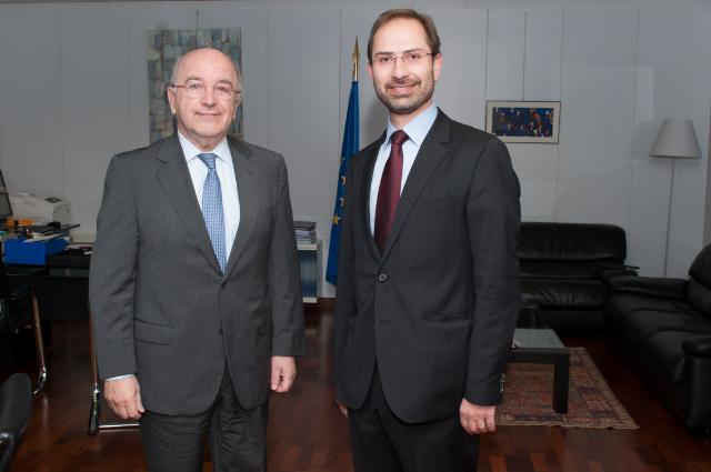 Visit of António Ferreira Gomes, President of the Board of the Portuguese Competition Authority, to the EC
