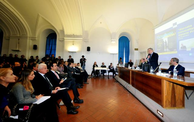 Participation of Antonio Tajani, Vice-President of the EC, at the Raw Materials University Day, in Rome
